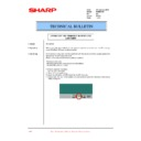 Sharp PG-M25XE (serv.man39) Technical Bulletin