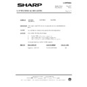 Sharp XG-3785E (serv.man5) Technical Bulletin