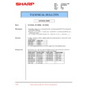 Sharp XG-C50XE (serv.man40) Technical Bulletin