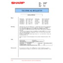 Sharp XG-C50XE (serv.man42) Technical Bulletin