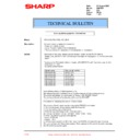 Sharp XG-C50XE (serv.man43) Technical Bulletin