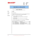 Sharp XG-C50XE (serv.man44) Technical Bulletin