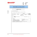Sharp XG-C50XE (serv.man45) Technical Bulletin