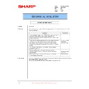 Sharp XG-C50XE (serv.man46) Technical Bulletin