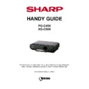 Sharp XG-C50XE Handy Guide