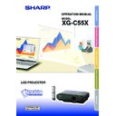 xg-c55x (serv.man29) user guide / operation manual