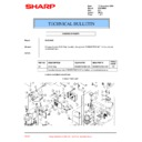 Sharp XV-Z10000 (serv.man35) Technical Bulletin