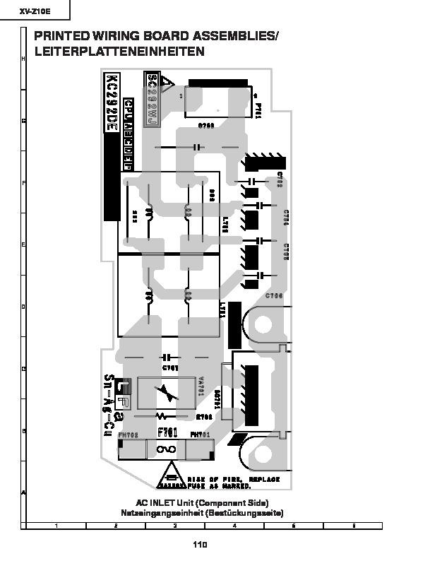 Sharp XVZ10E SERVMAN21 Service Manual View online or Download
