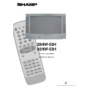Sharp 28HW-53 (serv.man11) User Guide / Operation Manual