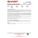 Sharp 28HW-53 (serv.man19) Technical Bulletin