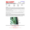Sharp 28HW-53 (serv.man20) Technical Bulletin