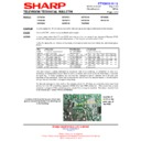 Sharp 28HW-53 (serv.man21) Technical Bulletin