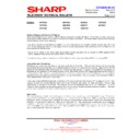 Sharp 28HW-53 (serv.man22) Technical Bulletin