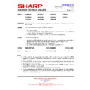 Sharp 28HW-53 (serv.man23) Technical Bulletin