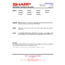 Sharp 28HW-53 (serv.man25) Technical Bulletin