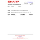 Sharp 28HW-53 (serv.man28) Technical Bulletin