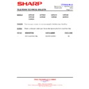Sharp 28HW-53 (serv.man29) Technical Bulletin