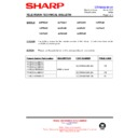 Sharp 28HW-53 (serv.man31) Technical Bulletin