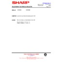 Sharp 28HW-53 (serv.man32) Technical Bulletin