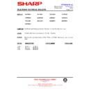 Sharp 28HW-53 (serv.man34) Technical Bulletin