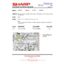 Sharp 28JW-73H (serv.man26) Technical Bulletin