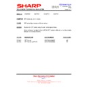 Sharp 28JW-73H (serv.man27) Technical Bulletin