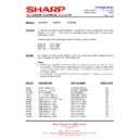 Sharp 28JW-73H (serv.man30) Technical Bulletin