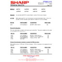 Sharp 28JW-73H (serv.man32) Technical Bulletin