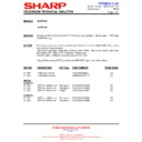Sharp 28JW-73H (serv.man38) Technical Bulletin
