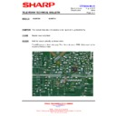 Sharp 28JW-73H (serv.man40) Technical Bulletin