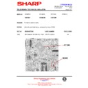 Sharp 37DM-23H (serv.man15) Technical Bulletin