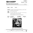 Sharp 37DM-23H (serv.man19) Technical Bulletin