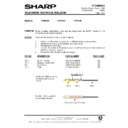 Sharp 37DM-23H (serv.man20) Technical Bulletin