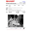 Sharp 37DM-23H (serv.man21) Technical Bulletin