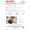 Sharp 37DM-23H (serv.man23) Technical Bulletin