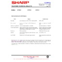 Sharp 37DM-23H (serv.man24) Technical Bulletin
