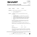 Sharp 37DM-23H (serv.man28) Technical Bulletin