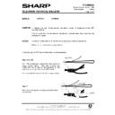 Sharp 37DM-23H (serv.man30) Technical Bulletin