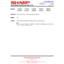 Sharp 51DS-05H (serv.man12) Technical Bulletin