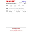 Sharp 51DS-05H (serv.man14) Technical Bulletin