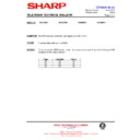 Sharp 51DS-05H (serv.man15) Technical Bulletin