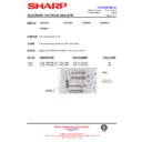 Sharp 51DS-05H (serv.man22) Technical Bulletin