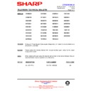 Sharp 51DS-05H (serv.man23) Technical Bulletin
