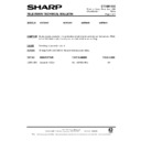 Sharp 51DS-05H (serv.man27) Technical Bulletin