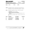 Sharp 51DS-05H (serv.man32) Technical Bulletin