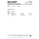 Sharp 51DS-05H (serv.man35) Technical Bulletin