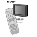Sharp 66GS-62 (serv.man13) User Guide / Operation Manual