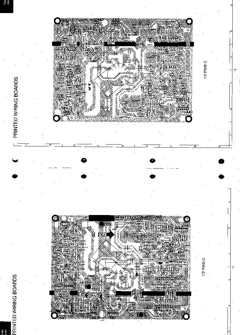 Sharp 76ef 19h Servman8 Service Manual View Online Or Download Crt Screen Schematic