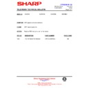 Sharp CV-2123H (serv.man13) Technical Bulletin