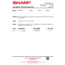 Sharp CV-2123H (serv.man14) Technical Bulletin